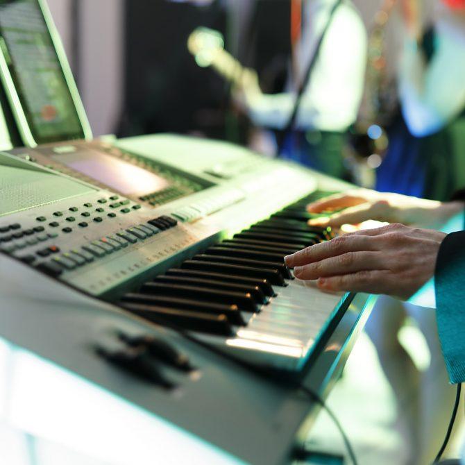 Instrumenty klawiszowe | Keyboard | Zespół muzyczny ASPIRA
