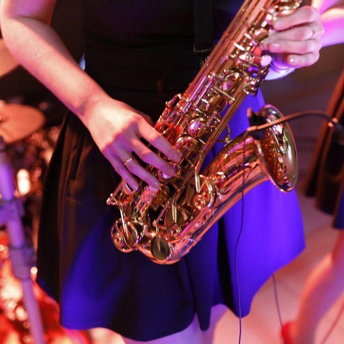 Zespół ASPIRA z saksofonem | Saksofon na weselu