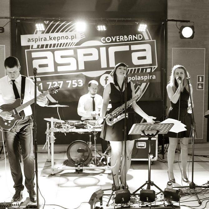 Coverband ASPIRA – zespół weselny wesela, eventy, skład live